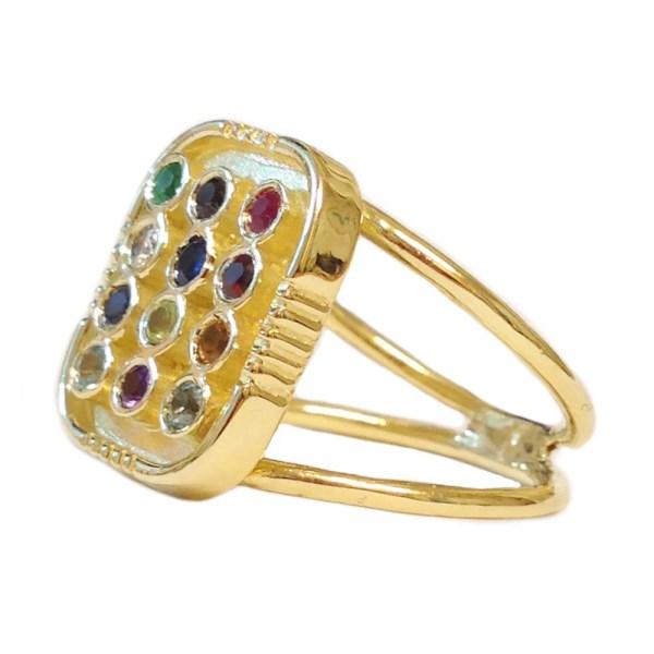14k Gold Hoshen Ring Gemstone Solid Choshen