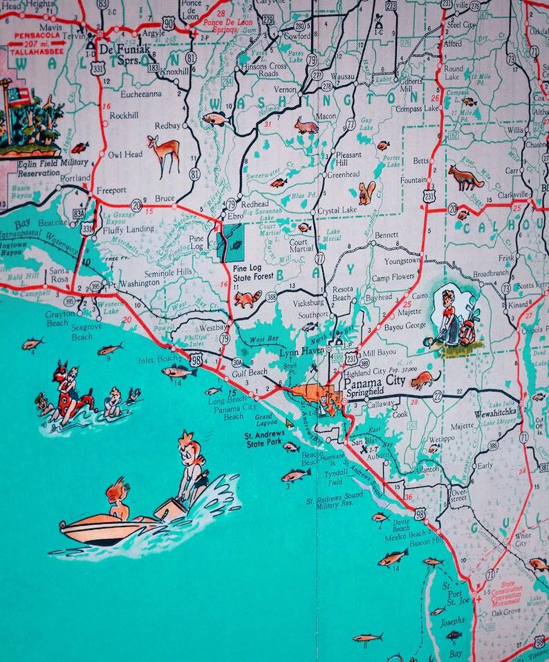 Maps Of Florida Panhandle Beaches : florida, panhandle, beaches, Florida, Panhandle, Beaches, World, Atlas