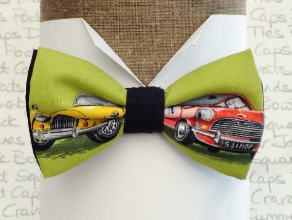 Bow Tie Ties Men Morgan And Mini Print