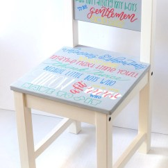 Little Boy Chairs Wooden Spool Chair Personalized Toddler Timeout Etsy Image 0