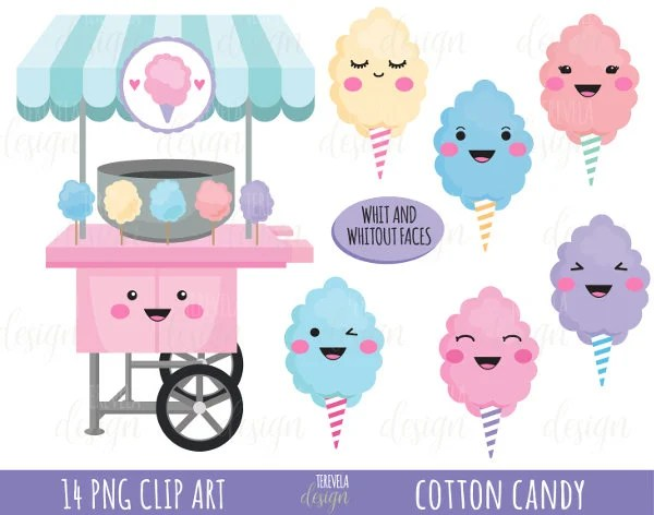 50 sale cotton candy