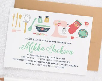kitchen bridal shower build table etsy invitation printable instant download template