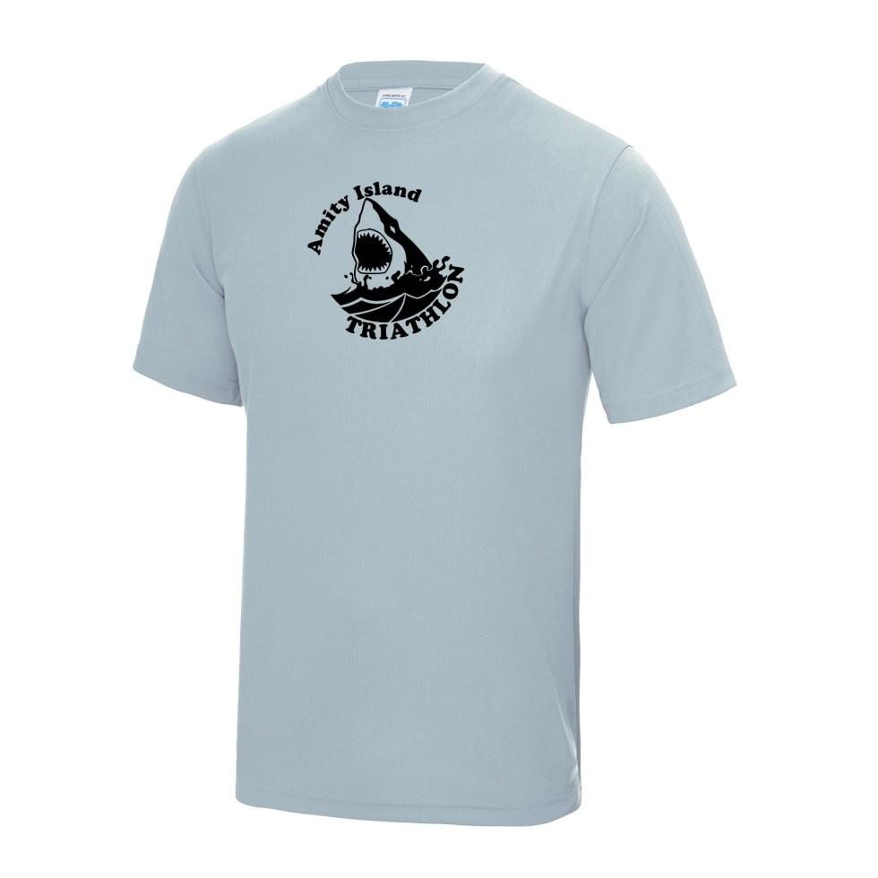 Jaws - Amity Island Triathlon - Fitness T-Shirt