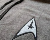 Star Trek Hoodie in Grey/Black