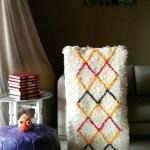 Morrocan Rug Beni Ourain Rug Moroccan Rug Small Rug Azilal Rug Bedroom Rug Nursery Rug Living Room Rug Berber Rug Morocco Rug Berber Rug