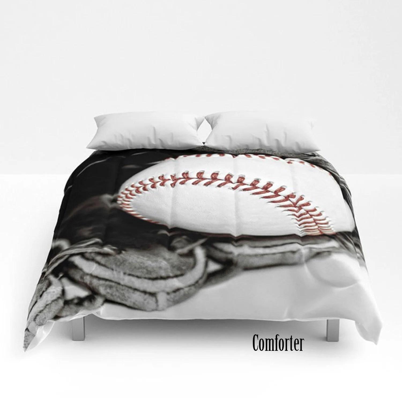 baseball comforter etsy