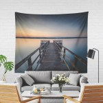 Colorful Ocean Tapestry Nautical Living Room Wall Decor