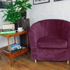 Tub Chair Covers Ireland Herman Miller Office Parts Custom Made For Ikea Sofas And Chairs By Hipicainteriors Quick Dispatch Tullsta Cover In Beautiful Aubergine Chenille Fabric