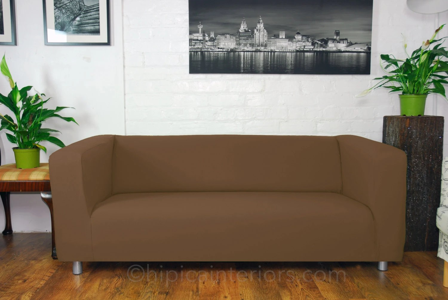 sofa 250cm comfortable bed uk slip cover to fit the ikea klippan 4 seat etsy image 0