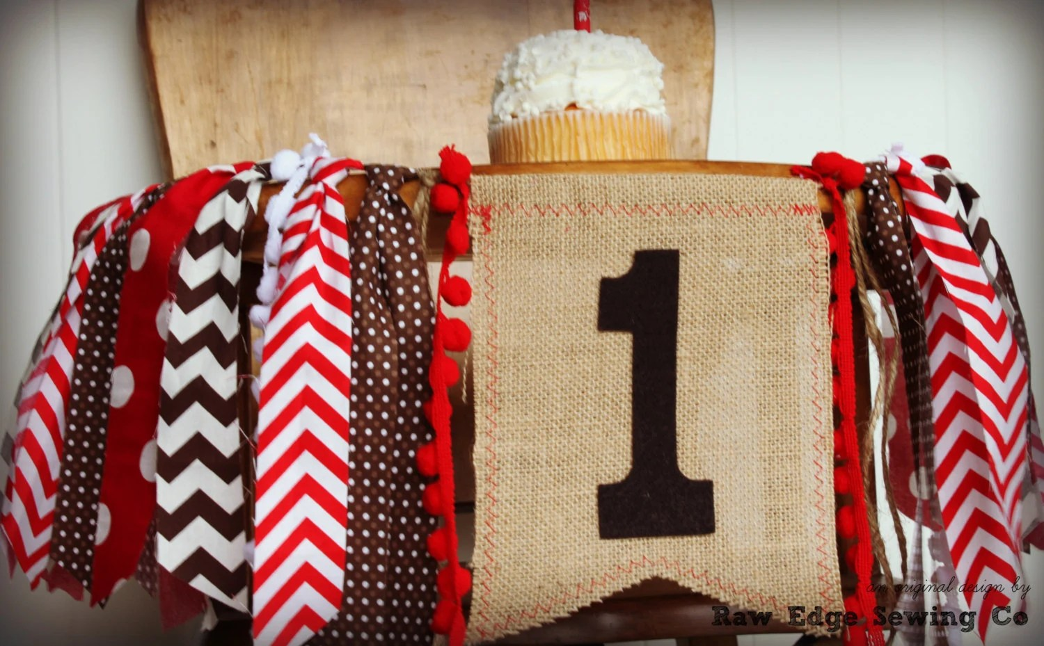 age for high chair wire dining chairs nz sock monkey birthday banner highchair garland etsy 50