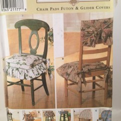 Sewing Patterns For Chair Cushions Deck Chairs Uk B Q Pads Simplicity 7966 Home Pattern Futon Etsy