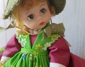 Denmark Madame Alexander doll, excellent condition, vintage 1970s, international series