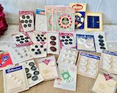 Assorted Vintage Buttons / New Old Stock