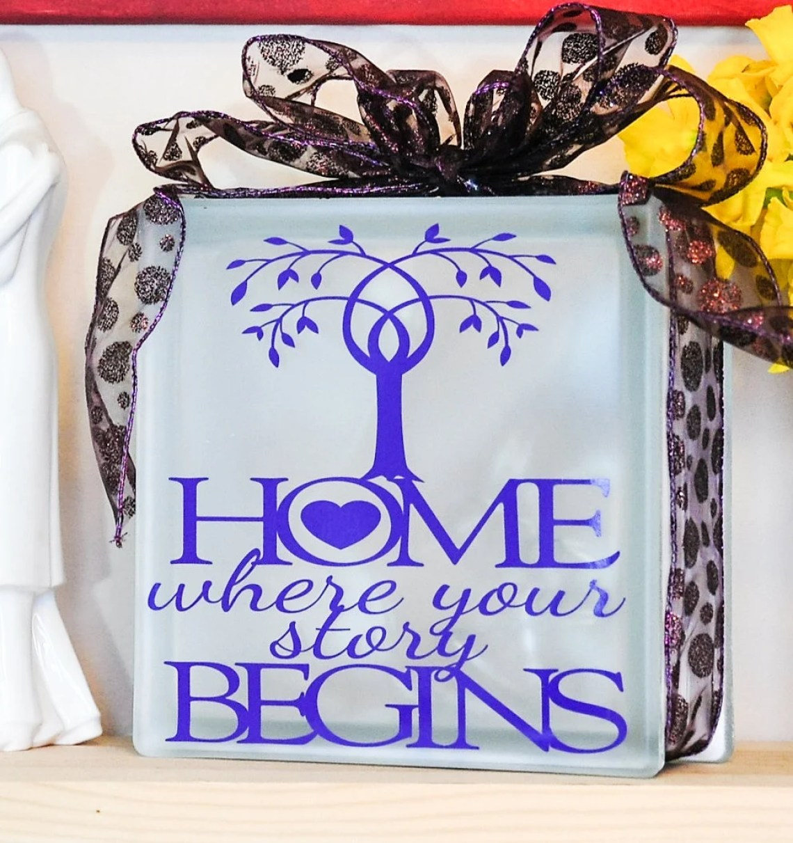 Home Where Your Story Begins Nightlight