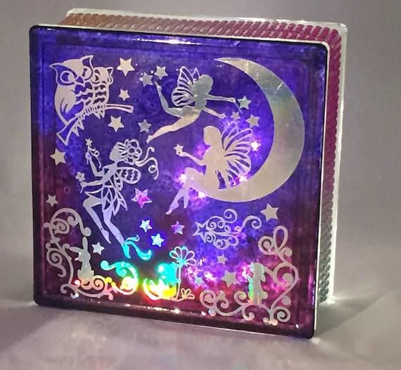 Moonlight Fairies Nightlight cube