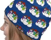 Cute Snowmies Tube Scarf Neck Gaiter