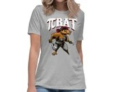Pi Rat Funny Gift For College Student, Teacher, and Math Major Womens T-Shirt