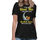 If You Can Read This I Was Forced To Put Down My Book Womens T-Shirt