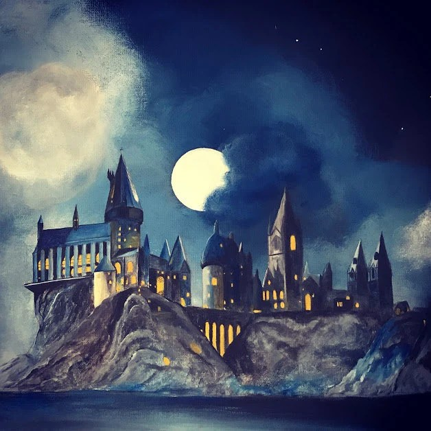 Drawings Castle Potter Interior Harry