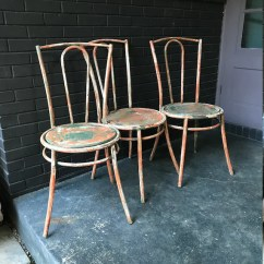 Industrial Bistro Chairs Pink Accent Chair Target French Vintage Mid Century Modern Set Etsy Image 0
