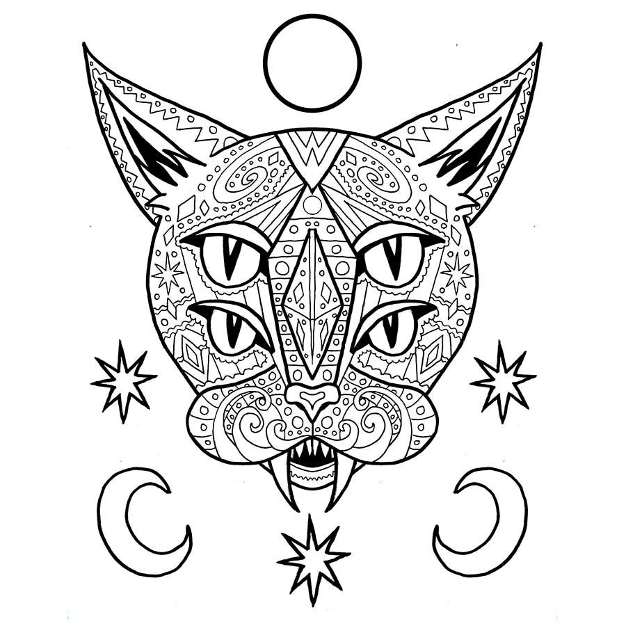 Anti Stress Coloring Adult Coloring PDF Gifts For Her 2017