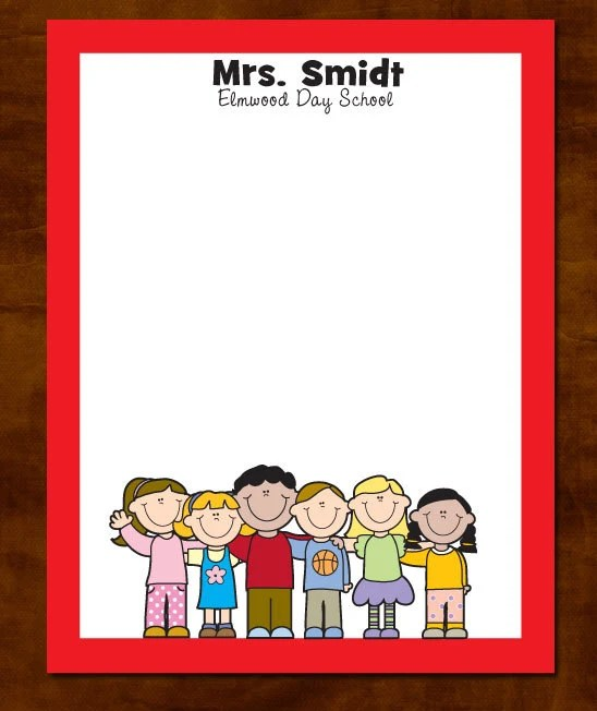 personalized teacher notepad teacher