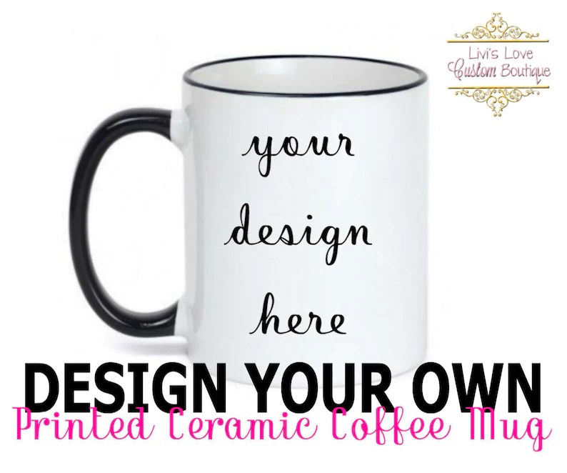 custom coffee mug personalized