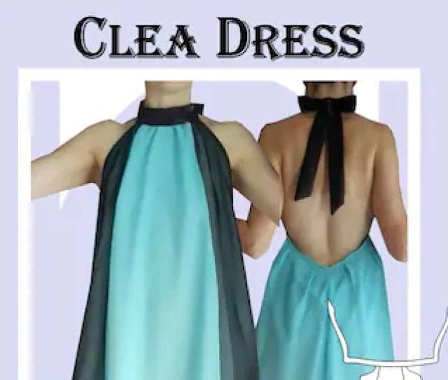 Clea Dress Sewing Pattern Plus Sizes 18  54