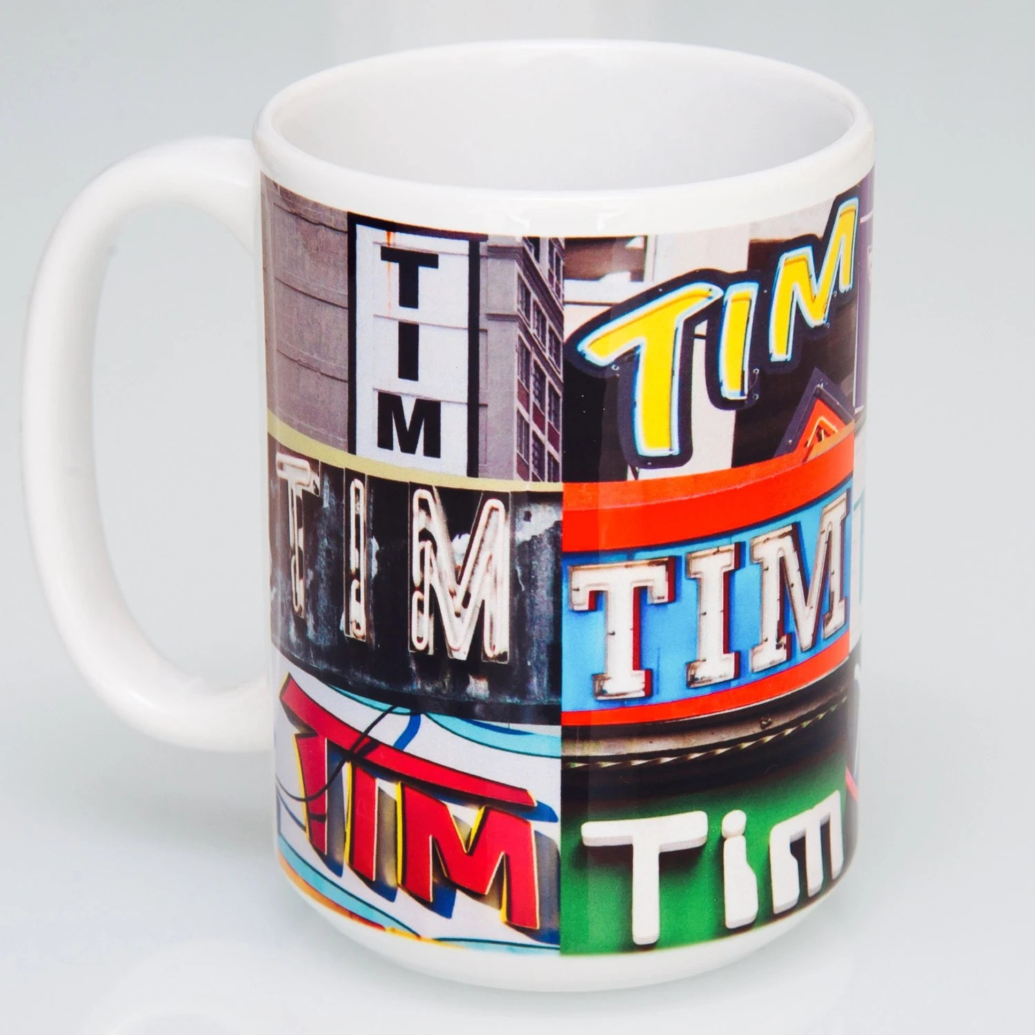 personalized coffee mugs featuring