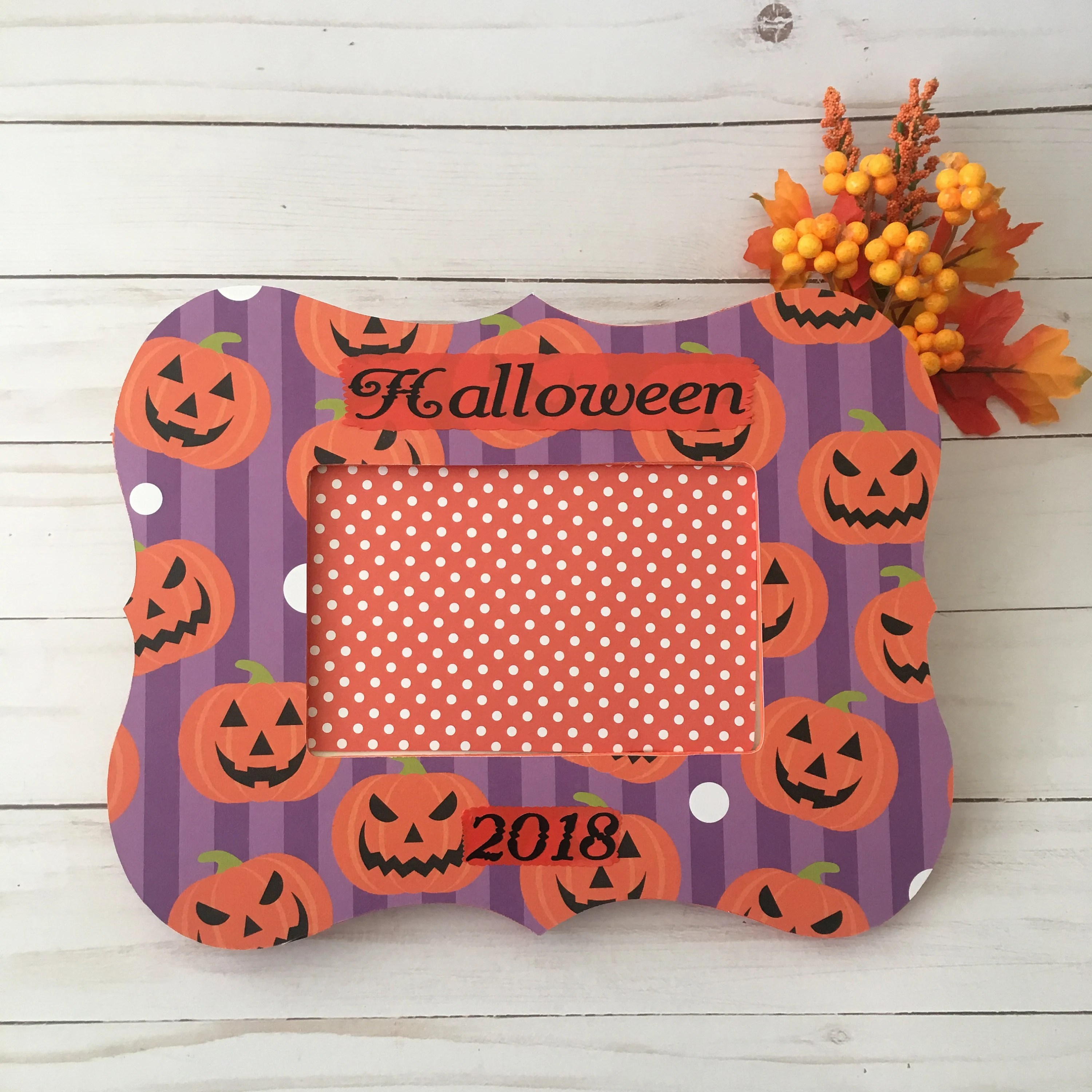 spooky halloween picture frames