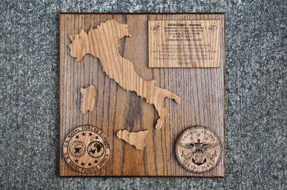 Navy Going Away Plaques