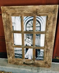 SALE Rustic Farmhouse Window Photo Frame/Window Pane ...
