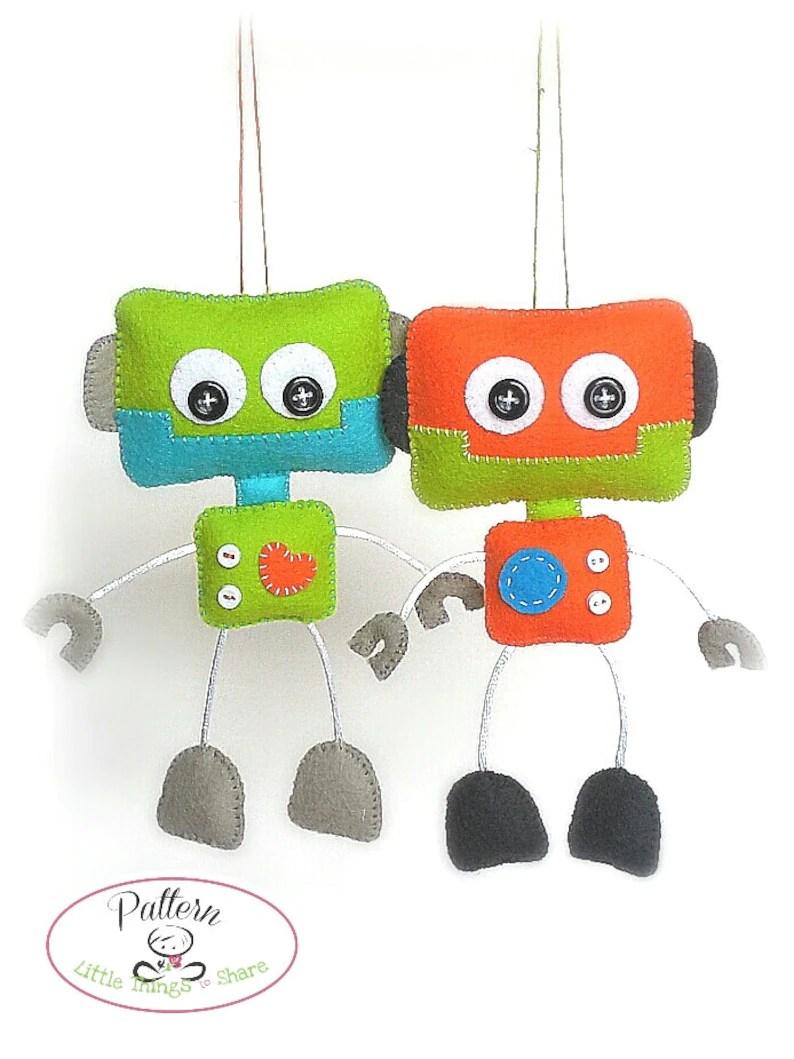 smiley robot pdf sewing