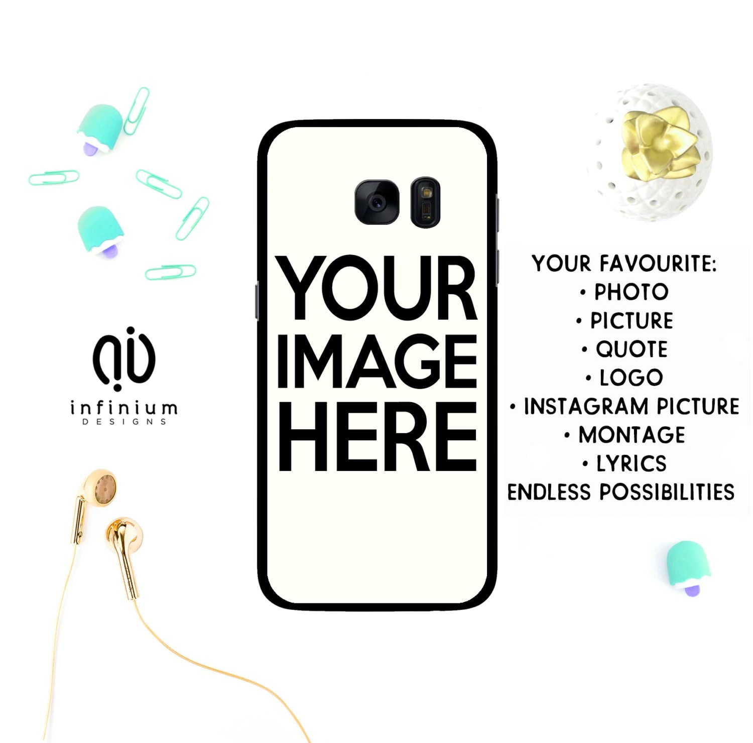 Personalized Case For Samsung S9 Iphone X Iphone 8 8 Plus