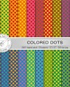 Colored Dots Digital Paper Pack 20 Printable Sheets 12x12 Etsy