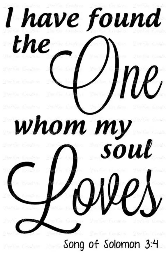 Download I have found the One whom my soul Loves Song of Solomon 3 ...