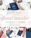 Floral Traveler Styled Stock Photo Bundle Lifestyle Social Etsy