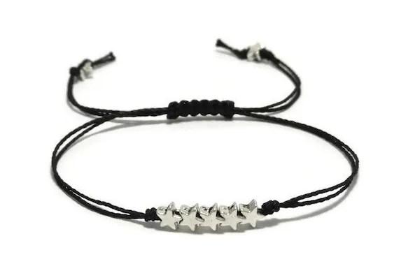 Stars Thread Bracelet Stars String Bracelet Star Bracelet