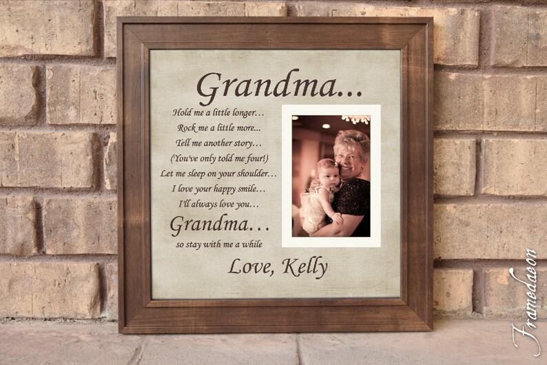 grandparents gift grandma gift