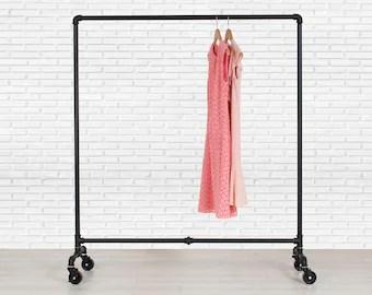 garment rack etsy