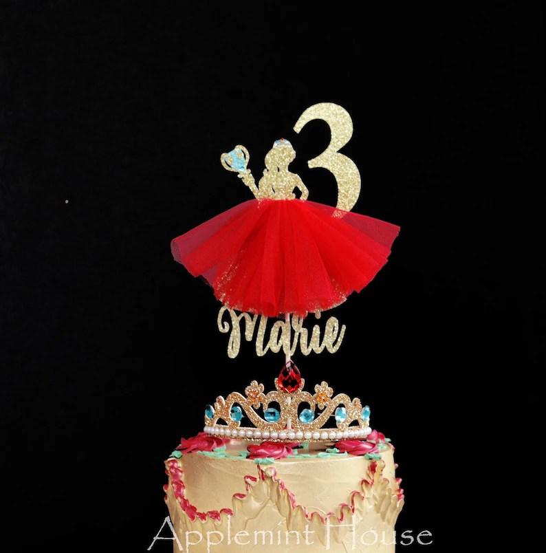 Elena Of Avalor Birthday Cake Topper Disney Princess Etsy