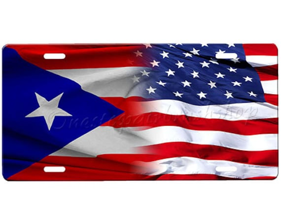 puerto rico flag american