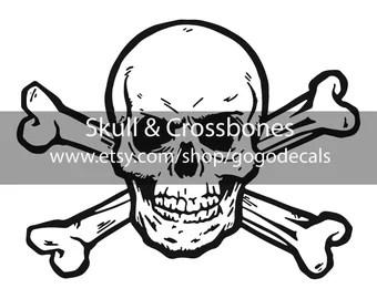 Skull And Crossbones Etsy