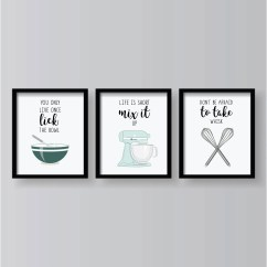 Art For The Kitchen Modern Cabinets Wall Etsy Quotes Prints Decor Posters Work Funny Signs Dining Room