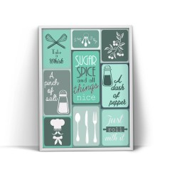Artwork For Kitchen Table 2 Etsy Teal Decor Print Wall Art Turquoise Poster