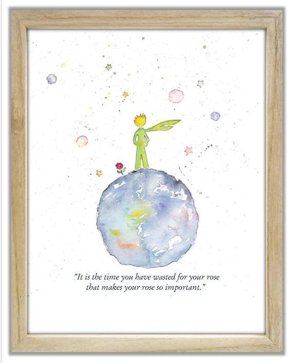 Citations Le Petit Prince : citations, petit, prince, Little, Prince., Citation, Prince, Français.