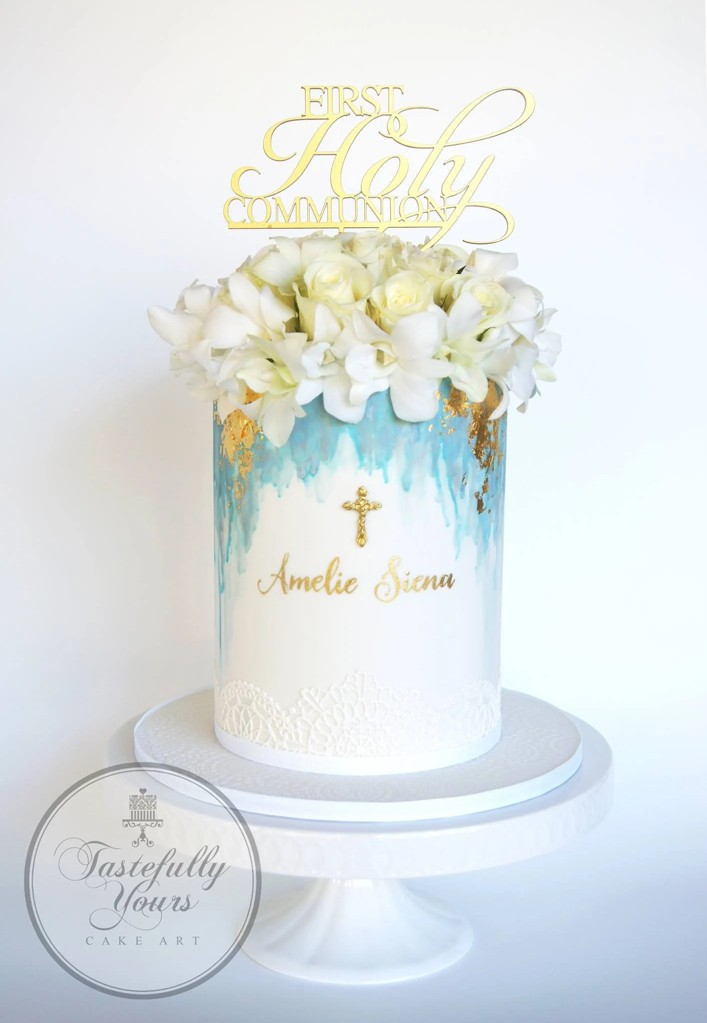 First Holy Communion Cake Topper Boys Or Girls First Holy Etsy