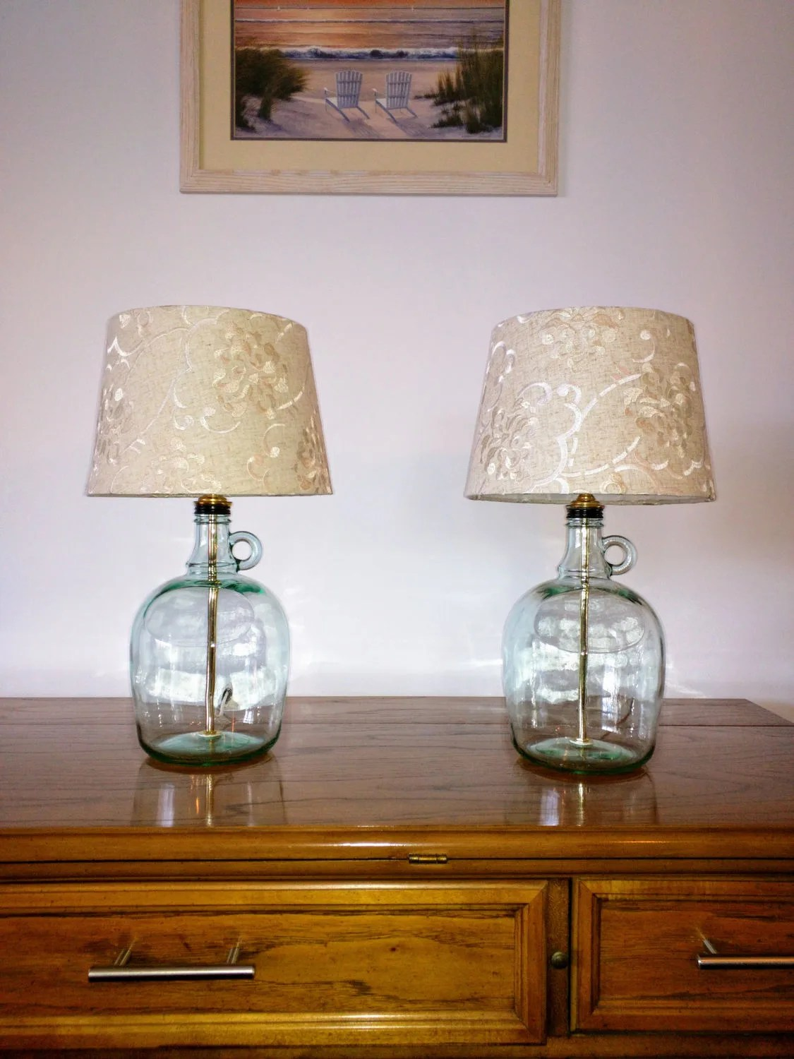 Small Lamps For Bedrooms Table Lamp Bedside Lamps Small Table Lamp Set Of 2 Table Lamps Glass Table Lamp Bedroom Lamp Modern Decor Glass Bottle Lamp