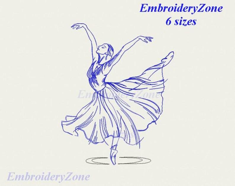 dancing girl ballerina 001