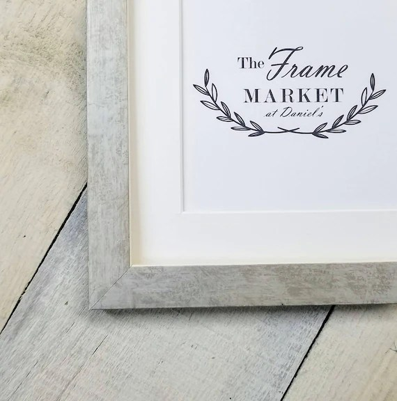 Personalized Wooden Frame Picture Matte